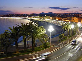 Promenade des Anglais in Nice in 2004