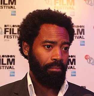 Nicholas Pinnock British actor