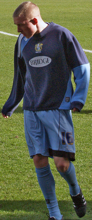 Nicky Adams - Adams playing for Bury in 2007