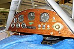 Nieuport 17 C replica instruments - Oregon Air and Space Museum - Eugene, Oregon - DSC09850.jpg