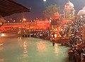Nightway way ganga Ghat, har ki paiddi, haridwar, uttarakhand.jpg