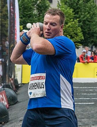 Niklas Arrhenius - Arrhenius in 2015
