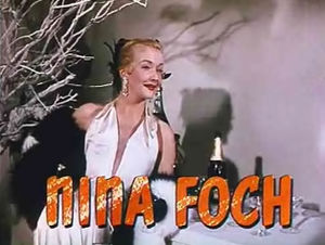 Orry-Kelly - Nina Foch in An American in Paris (1952)