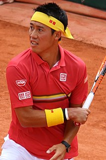 Kei Nishikori Japanese tennis player
