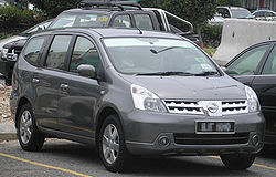 Nissan Grand Livina (first generation) (front), Serdang.jpg