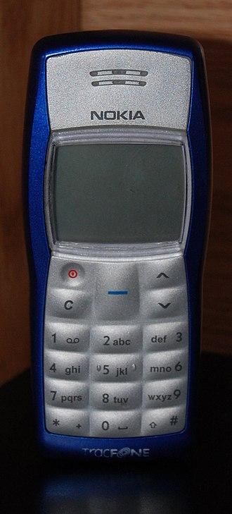 Nokia 1100 - Image: Nokia 1100 new