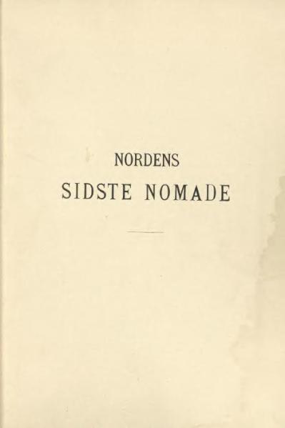 File:Nordens sidste nomade.djvu