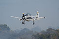 North American T-28C Trojan Sherry Berry Landing 02 TICO 13March2010 (14619424693).jpg