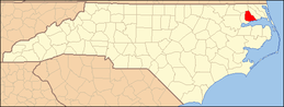 North Carolina Map Highlighting Perquimans County.PNG