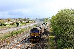 Norton Fitzwarren - West Coast 47245 with 5029 and support coach.jpg