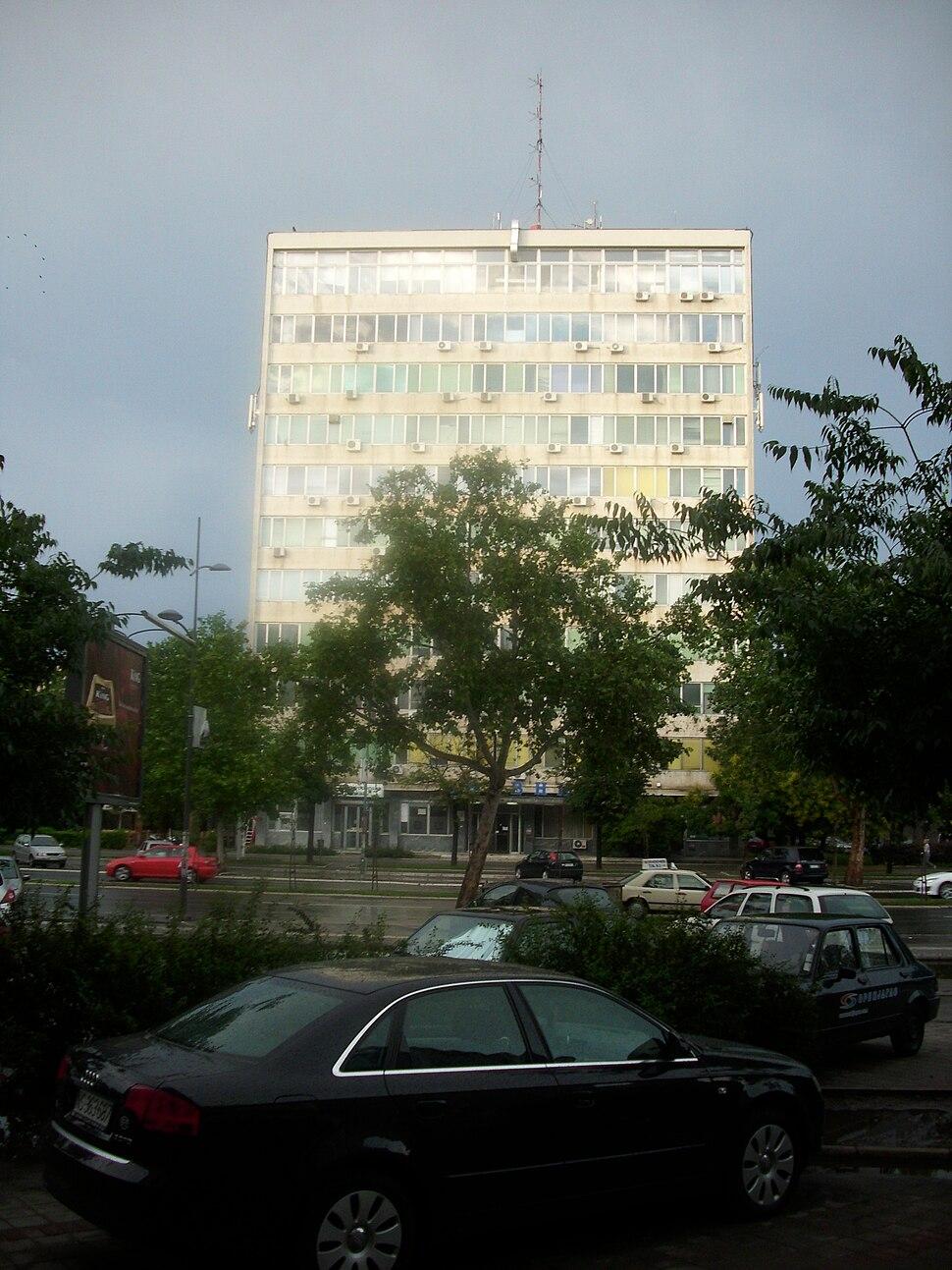Novi Sad - Zgrada Dnevnik