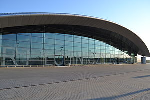 Rzeszów–Jasionka Airport - Image: Nowy terminal portu lotniczego Rzeszów Jasionka