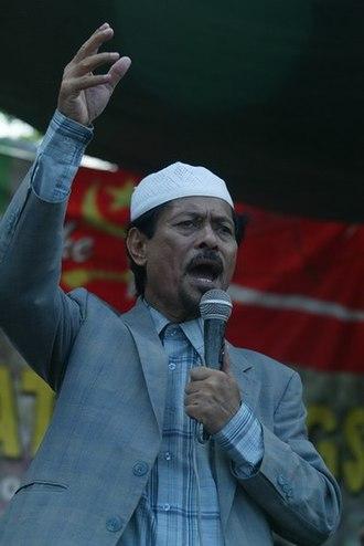 2001 Misuari rebellion - Nur Misuari in 2009