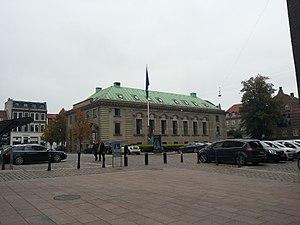 Domkirkepladsen 1 - Image: Nykredit 1