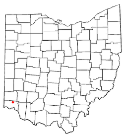 Location of Greenhills, Ohio