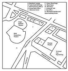 oregon shakespeare festival wikipedia 1940s Theater a map of the oregon shakespeare festival