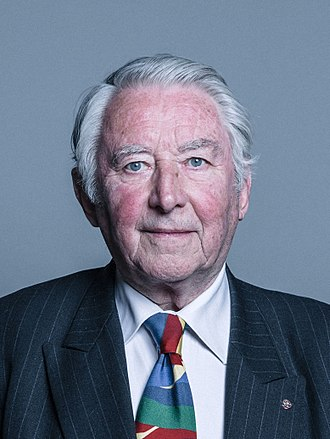 David Steel - Official portrait of Lord Steel of Aikwood