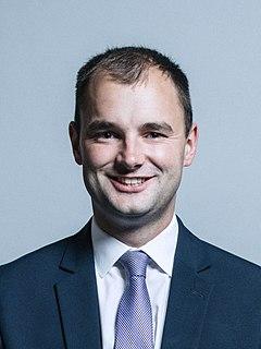 Luke Hall (politician) British politician