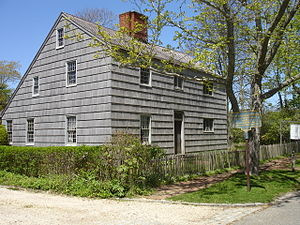 Halsey House (Southampton, New York) - The Old Halsey House in the spring of 2011