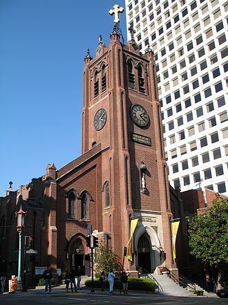 Old St. Mary's Cathedral - Image: Old Saint Marys Cathedral SF