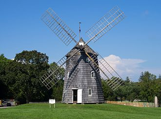 Hook Windmill - Image: Old Hook Mill in East Hampton 1