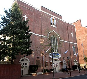 Henry Conwell - St. Mary's Church in Philadelphia was the epicenter of the disputes that overshadowed Conwell's episcopate.
