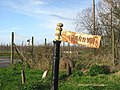 Old signpost to Perry. - geograph.org.uk - 317205.jpg