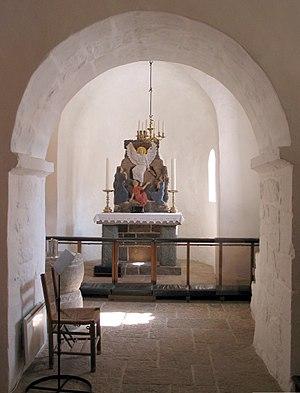 Sankt Ols Kirke - Image: Olsker kirke 2003 b