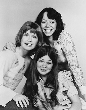 Mackenzie Phillips - Mackenzie Phillips in 1975. She is seen here alongside fellow cast members Bonnie Franklin and Valerie Bertinelli