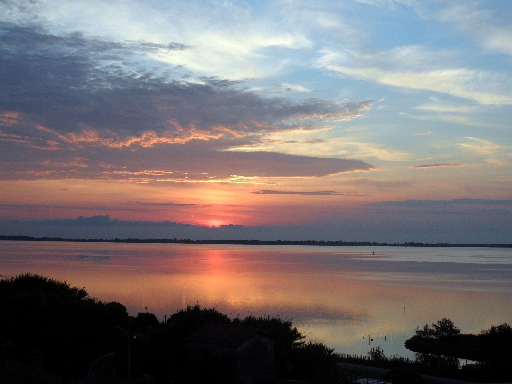 Orbetello al tramonto