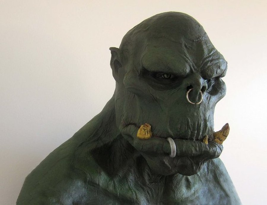 Orc mask by GrimZombie