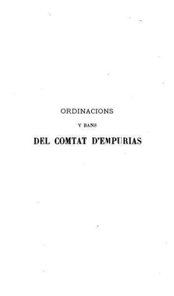 File:Ordinacions y bans del Comtat d'Empurias (1879).djvu