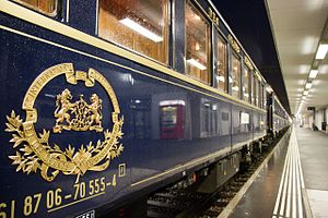 train de luxe orient express