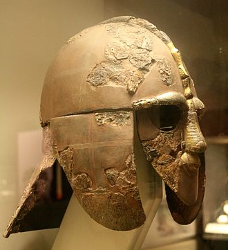 Basil Brown - The iconic helmet discovered by Brown's excavations in East Anglia