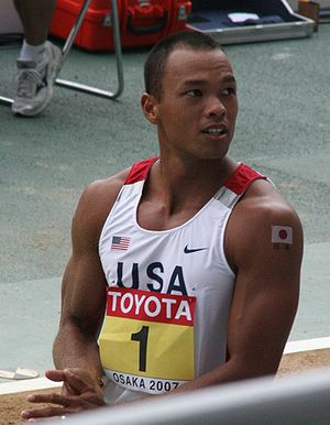 Bryan Clay - Bryan Clay during the 2007 World Athletics Championships in Osaka, Japan.