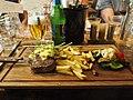Oscar schnitzel of veal at restaurant Mama Mozza, Kerava.jpg