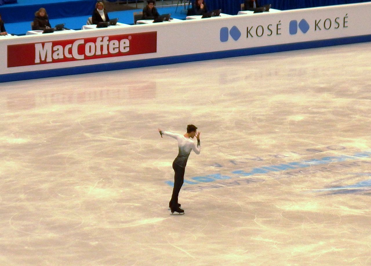 Michal Brezina of Czech Republic competes in the Men Free