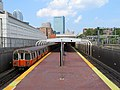 Outbound train at Massachusetts Avenue station, July 2019.JPG