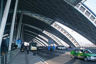 Chengdu Shuangliu International Airport international airport in Sichuan, China