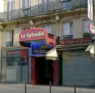 Le Splendid Parisian café-théâtre company founded in the 1970s