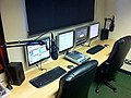 PB Radio Studio Refurbishment October 2011.jpg