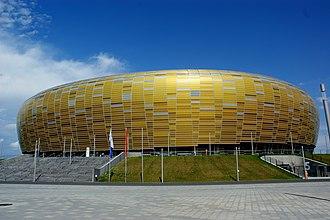 Stadion Energa Gdańsk -  Main entrance