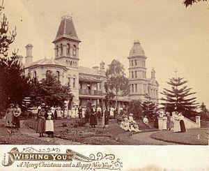 John Marden - Shubra Hall and PLC students, 1892