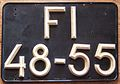 PORTUGAL 1960's -TWO LINE LICENSE PLATE - Flickr - woody1778a.jpg