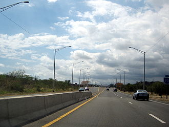 Puerto Rico Highway 10 - PR-10 in Ponce