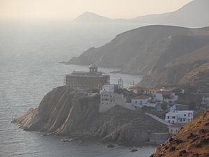 Psara - Psara, Agios Nikolaos monastery