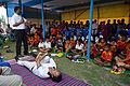 Pabanmuktasana Demonstration - Football Workshop - Nisana Foundation - Sagar Sangha Stadium - Baruipur - South 24 Parganas 2016-02-14 1385.JPG