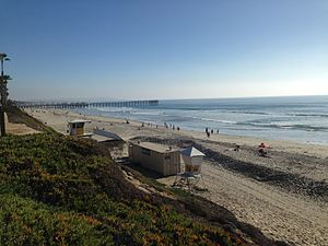 Pacific Beach, San Diego - Pacific Beach north of Crystal Pier