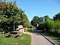 Paignton , Paignton Zoo, Path - geograph.org.uk - 1484930.jpg