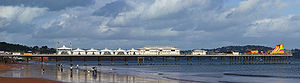 Paignton - Paignton Pier (1879) and beach
